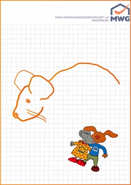 Spiele Susi&Tino Montagsmaler Kariert