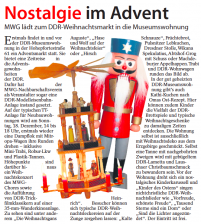 17.12.2016 | Nostalgie im Advent | Magdeburger Elbe-Kurier
