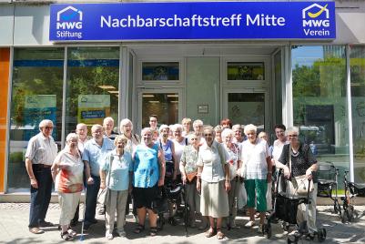 Stadtrundfahrt der MWG-Stiftung